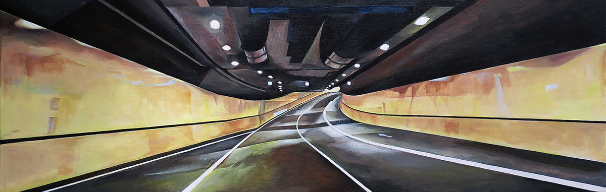 Highly Commended: Samir Hamaiel | Tunnel II (Detail)
