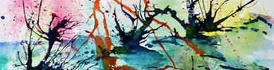 Abstract Landscape in Watercolour1